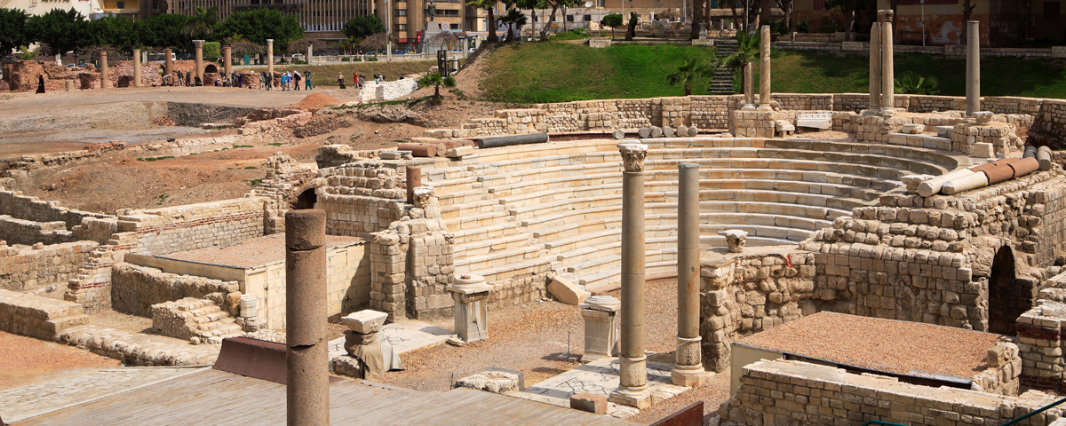 Ruines d'Alexandrie