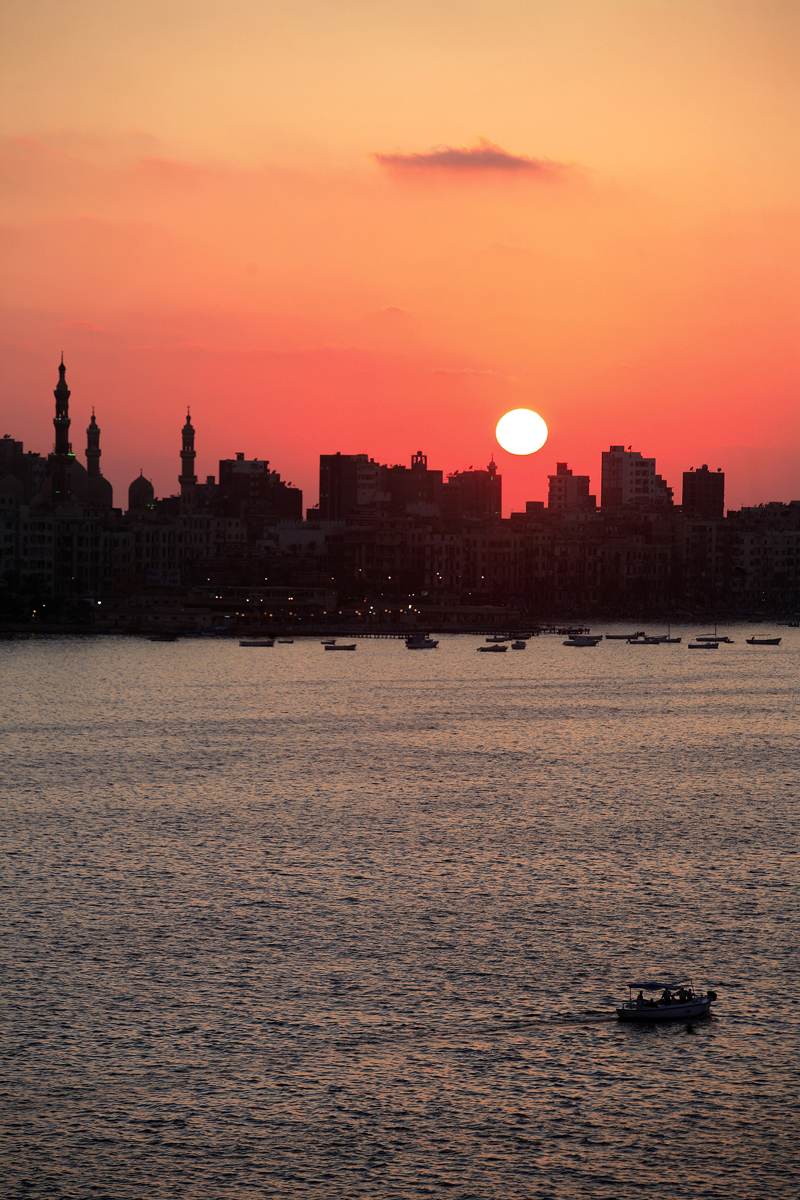 Alexandrie - Front de mer