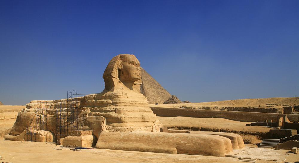 Le Sphinx des Pyramides de Gizeh