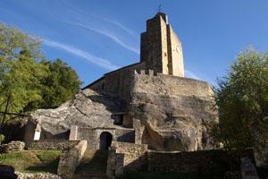 Eglise rupestre de Vals