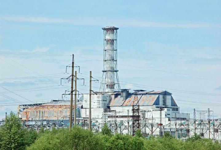 Centrale nucléaire de Tchernobyl-Pripyat