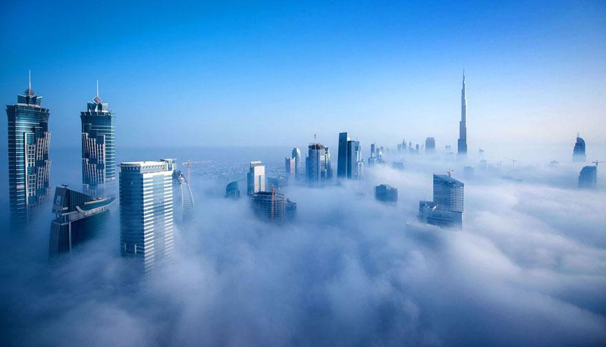 Les photos fascinantes de Sebastian Opitz à Dubaï
