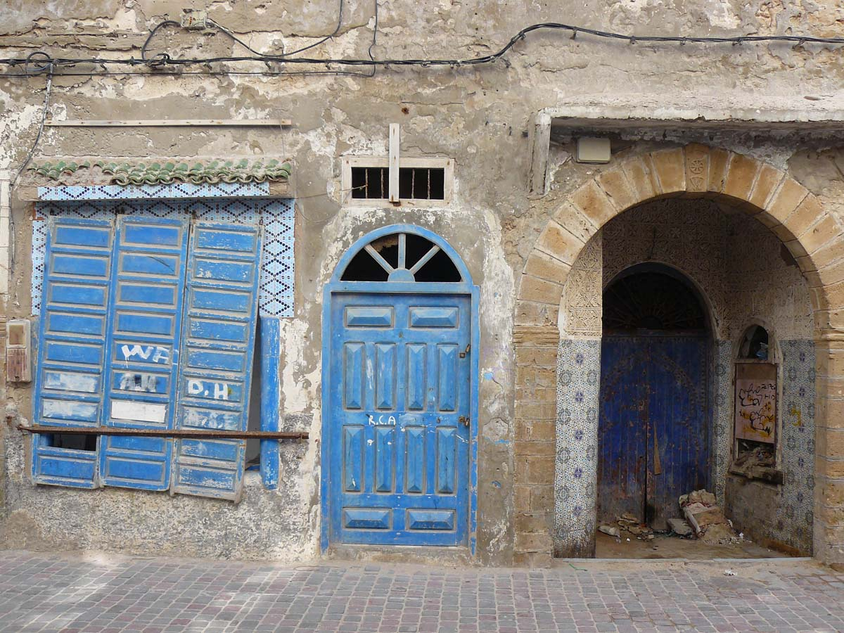 Dans la médina d'Essaouira