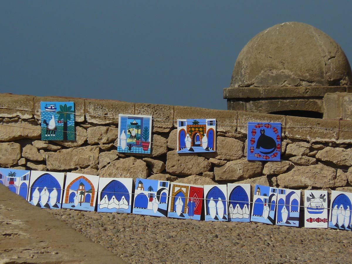 Oeuvres d'art à Essaouira