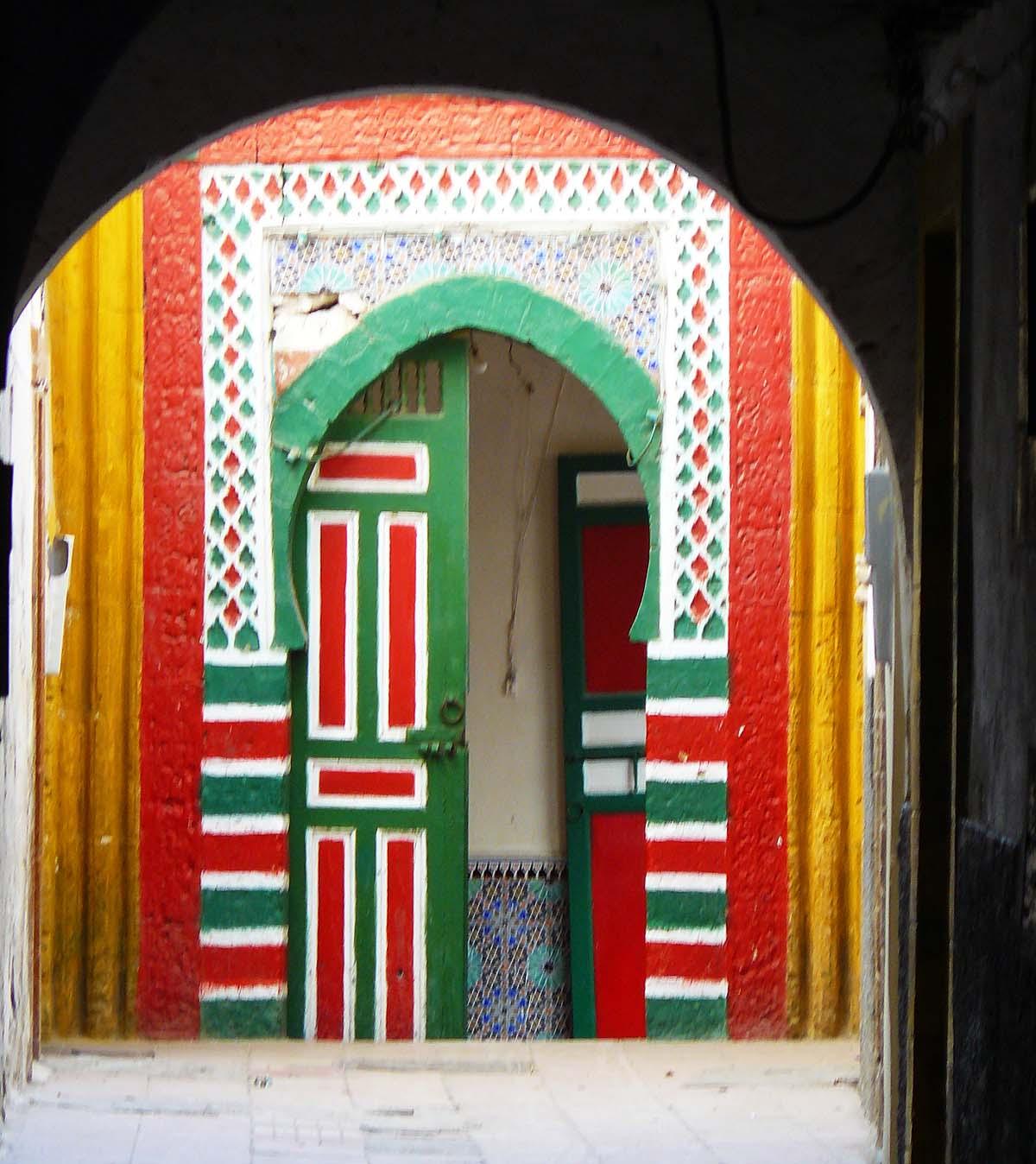 Il n'y a pas que du bleu et du blanc à Essaouira