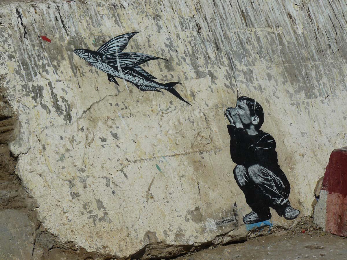 Street-art à Essaouira