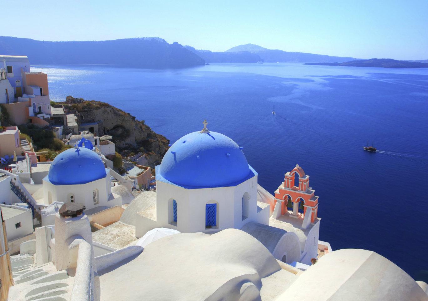Santorin, la grâce de la Grèce