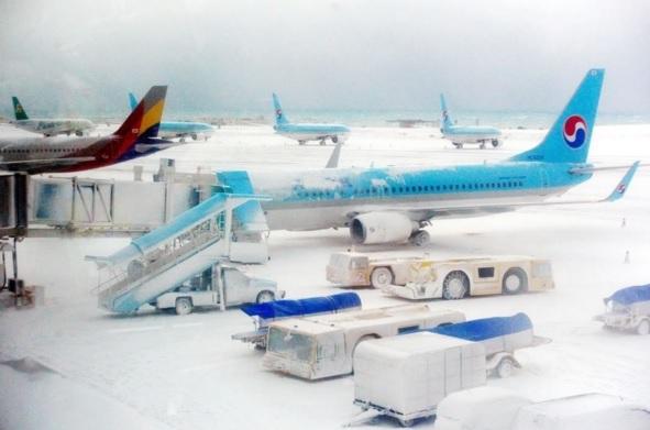 Aéroport sous la neige, Snowzilla