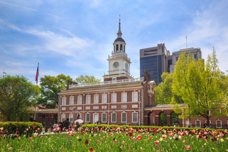Independence Hall de Philadelphie