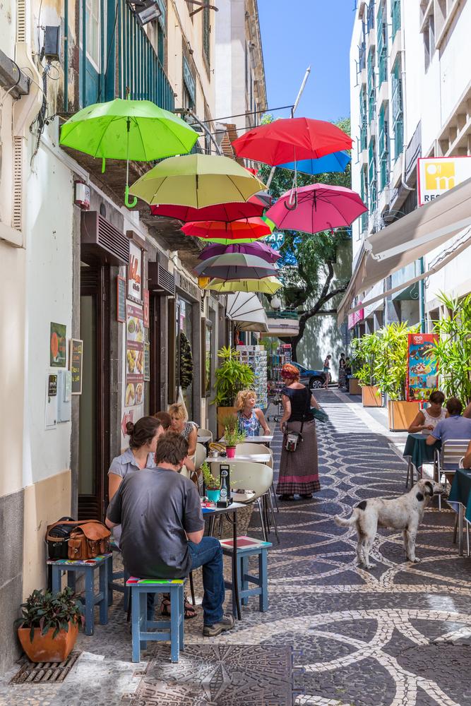 Madère, dans les rues de Funchal