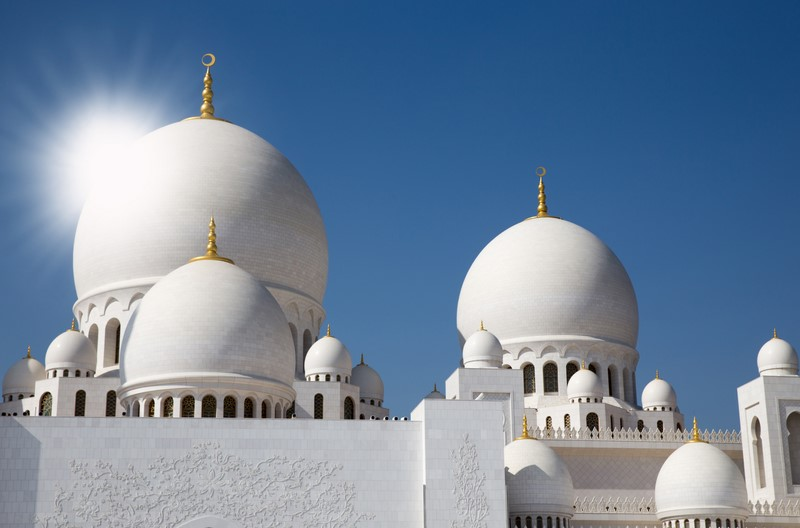 Sheikh Zayed Grand Mosque Center, Abu Dhabi, (Emirats Arabes Unis)