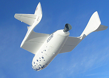 Spaceship One par Virgin Galactic