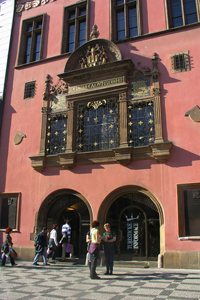 Prague : Office de Tourisme de la Vieille Ville