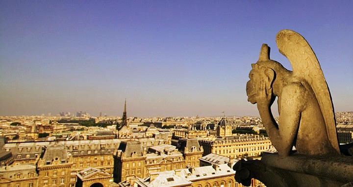 Gargouille de Notre-Dame de Paris