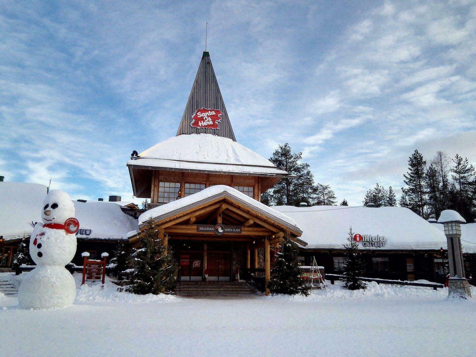 Le village du Père Noël dans la région de Rovaniemi