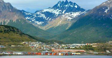 Ushuaia ville en Argentine