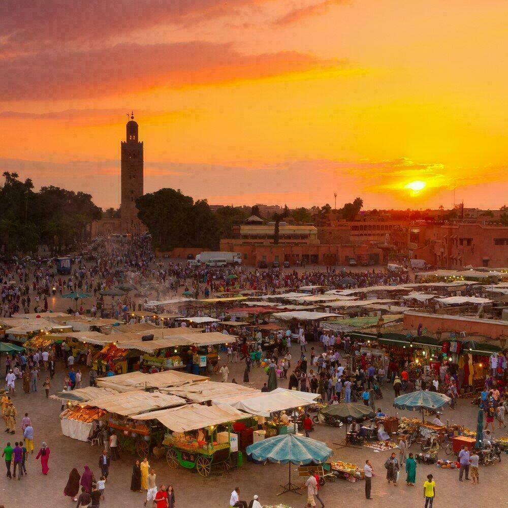 Place Djemaa el Fna, Marrakech