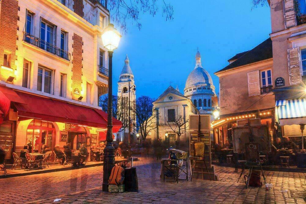 Paris, place du Tertre