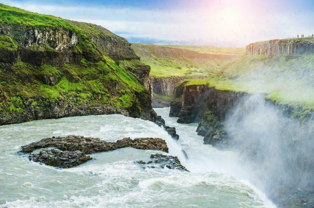 Chutes Gullfoss en Islande