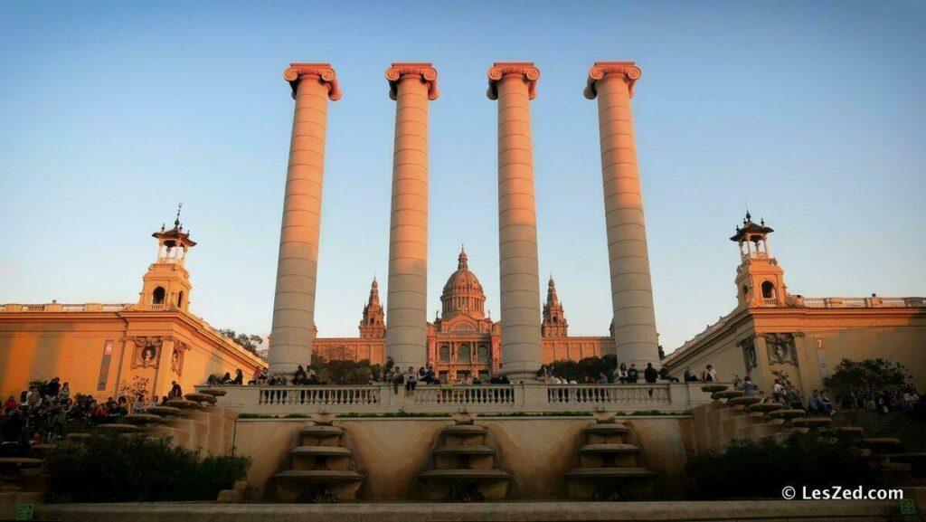 Montjuïc à Barcelone