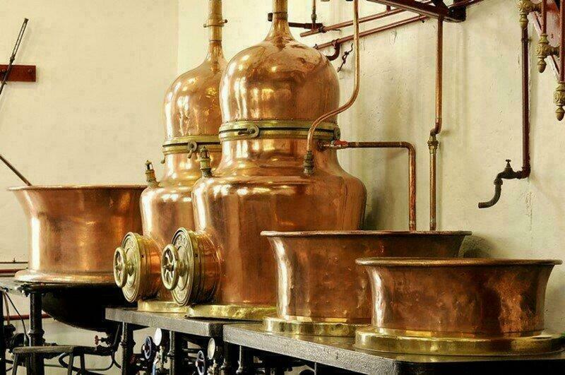 Distillerie Combier à Saumur