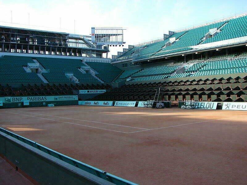 Visite gratuite de Roland Garros