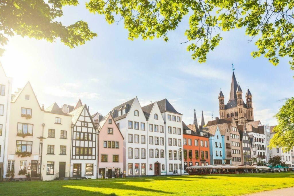 Cologne maisons et parc