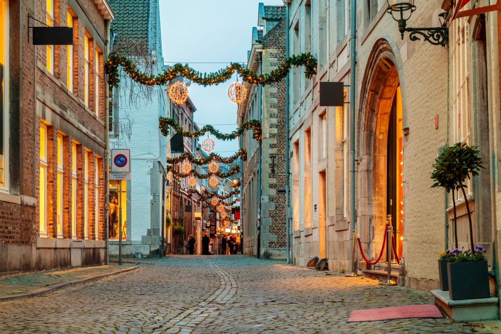 Maastricht rue commercante