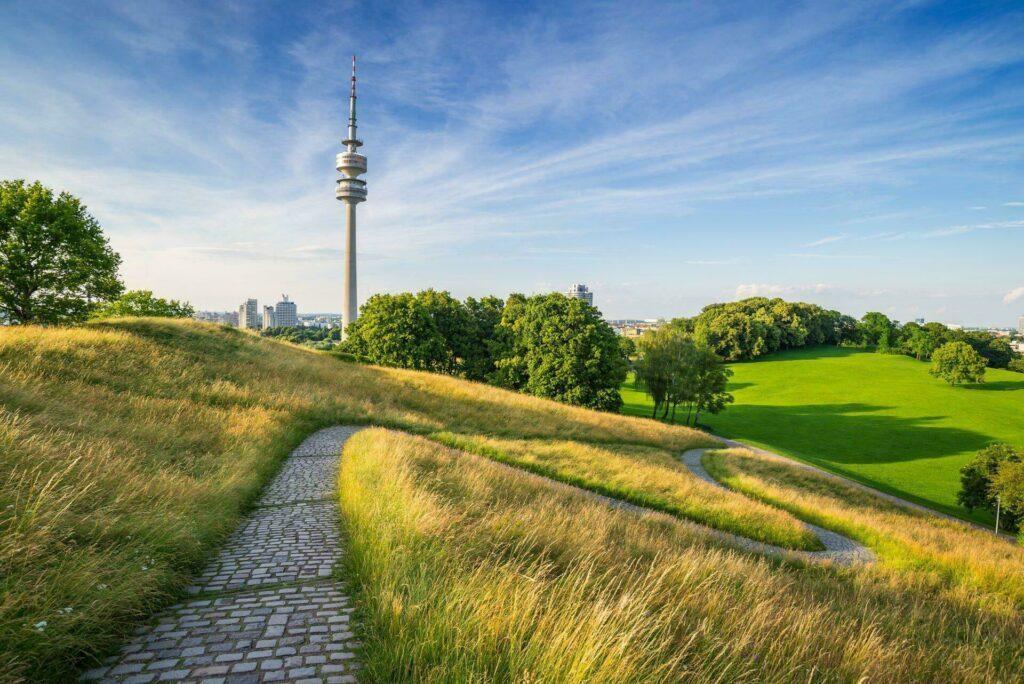 Munich parc olympique tour