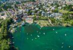 Vue sur Lausanne (Suisse)