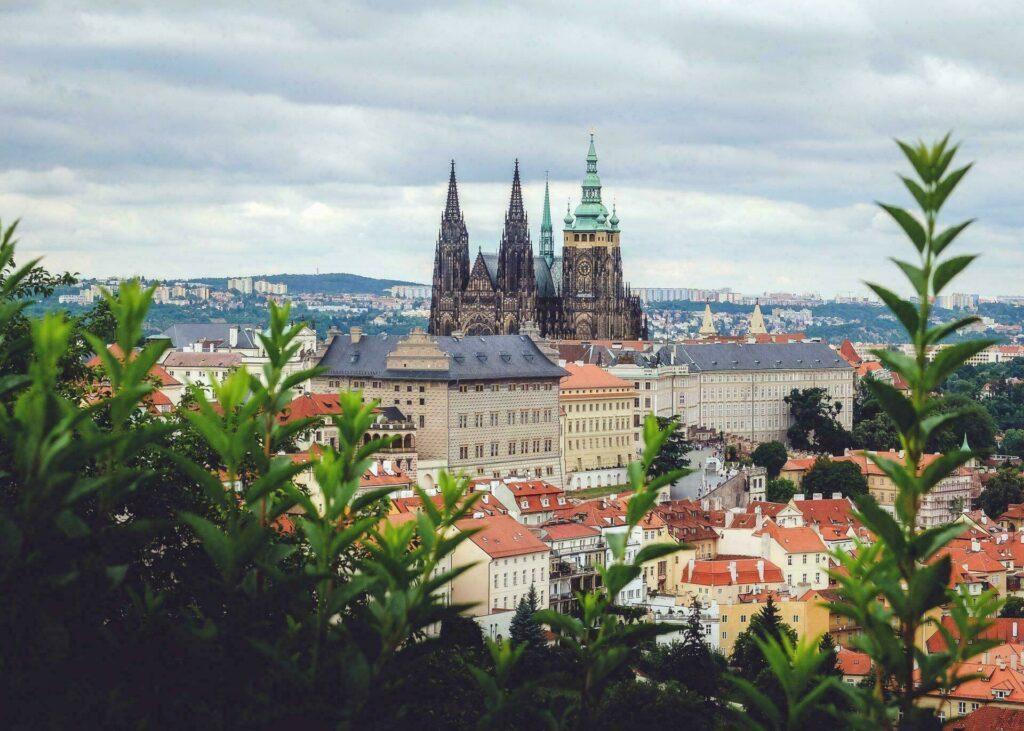 La chateau de Prague