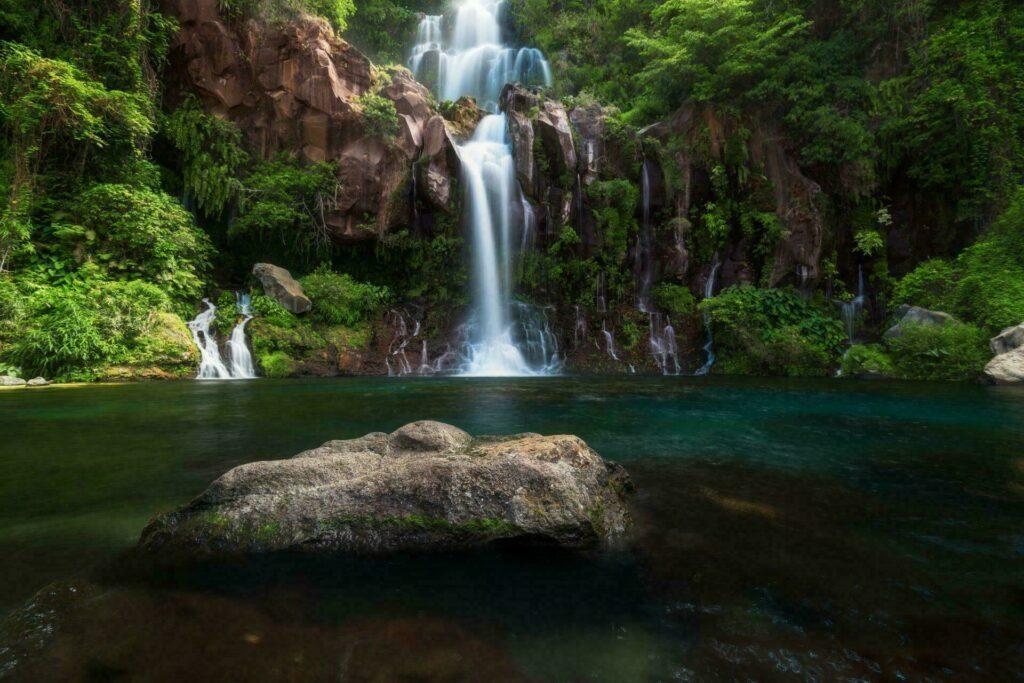 Ile Reunion cascades Les Cormorans Saint-Gilles
