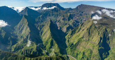 Ile Reunion paysage montagnes