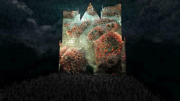Fête des Lumières 2016 - Cathédrale Saint-Jean