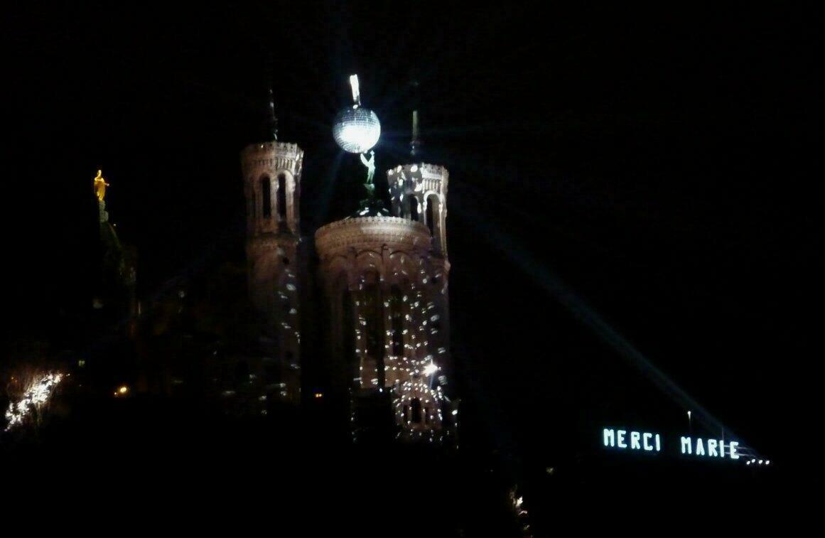 Fête des Lumières 2014 - Colline de Fourvière
