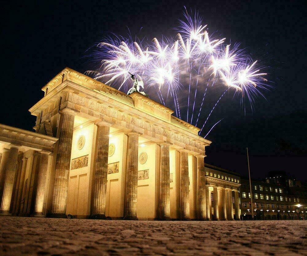 Fêter le jour de l'An à Berlin