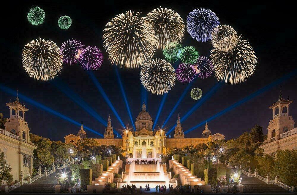 Réveillon du nouvel An à Barcelone