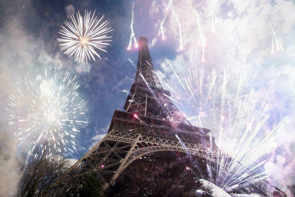 Jour de l'An à Paris