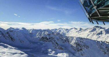 Panorama sur les Alpes en Autriche