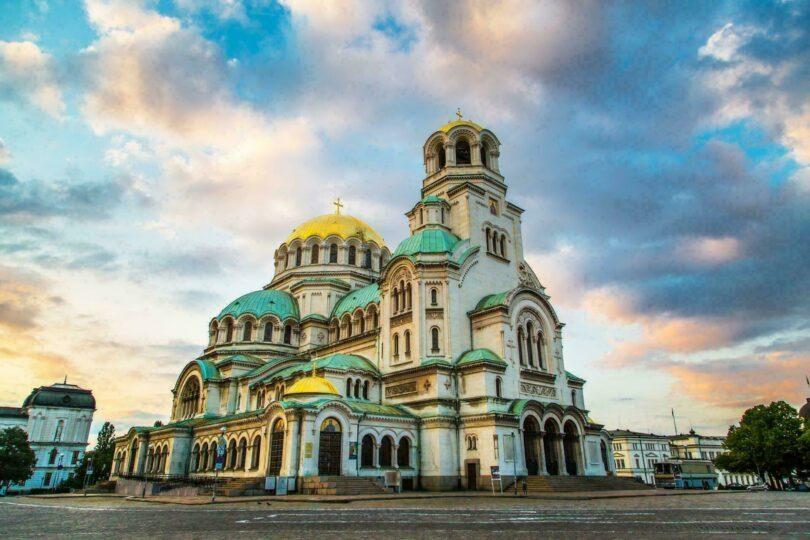 Bulgarie Sofia Cathedrale Saint-Alexandre-Nevski