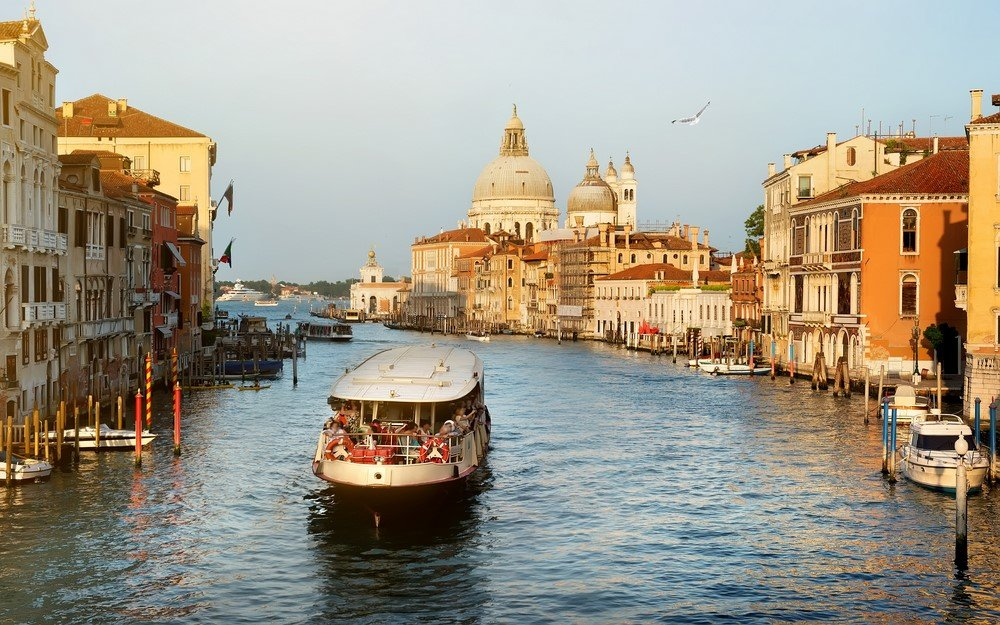 Vaporetto sur le Grand Canal
