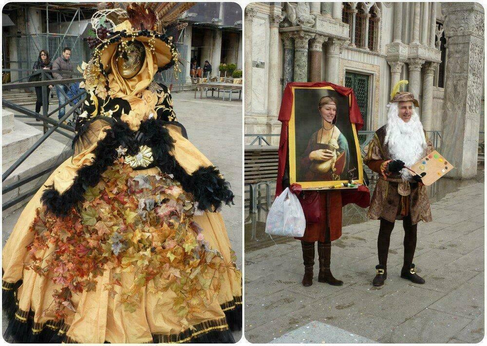 Ambiance carnaval à Venise