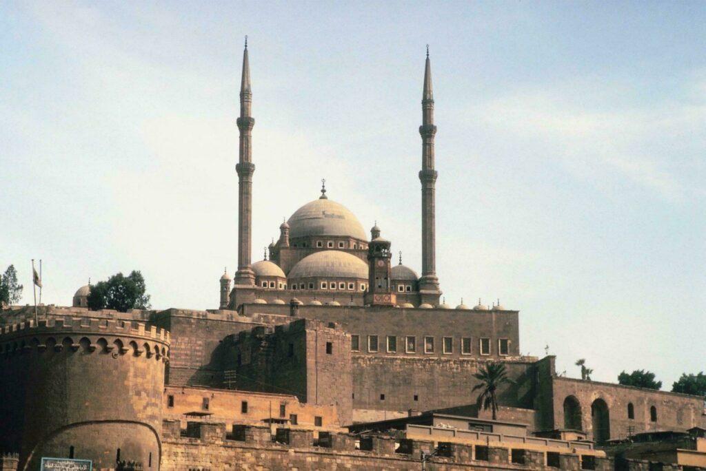 Egypte citadelle et remparts Caire