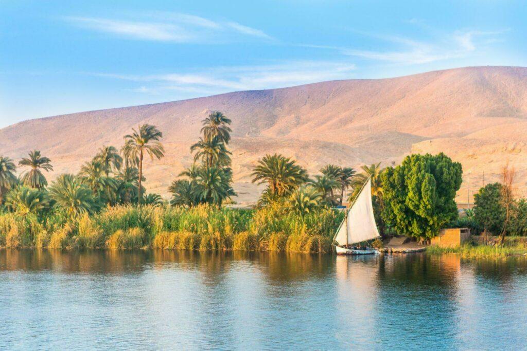 Egypte fleuve Nil