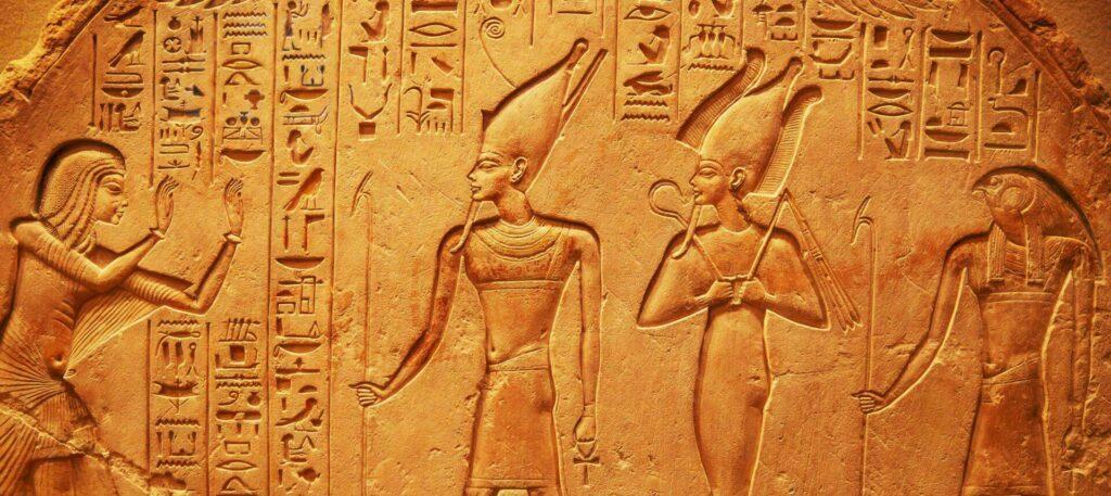 Egypte hiéroglyphes anciens