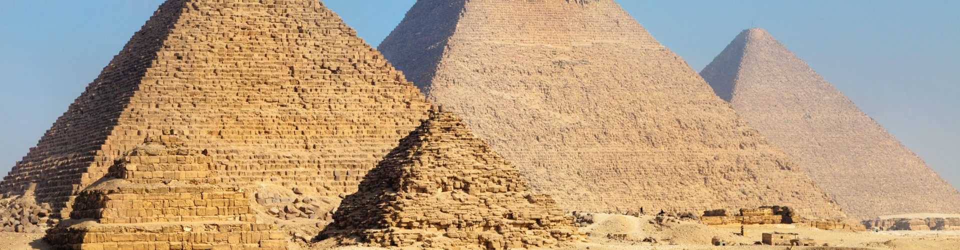 Egypte pyramises