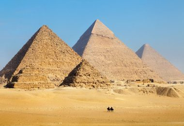 Egypte pyramises