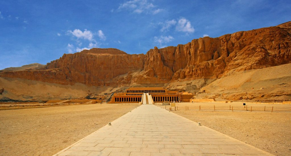 Egypte temple Hatchepsout Louxor
