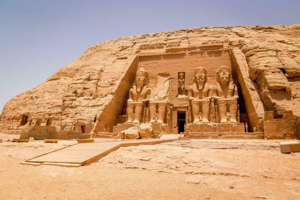 Egypte temple Ramses Abou Simbel