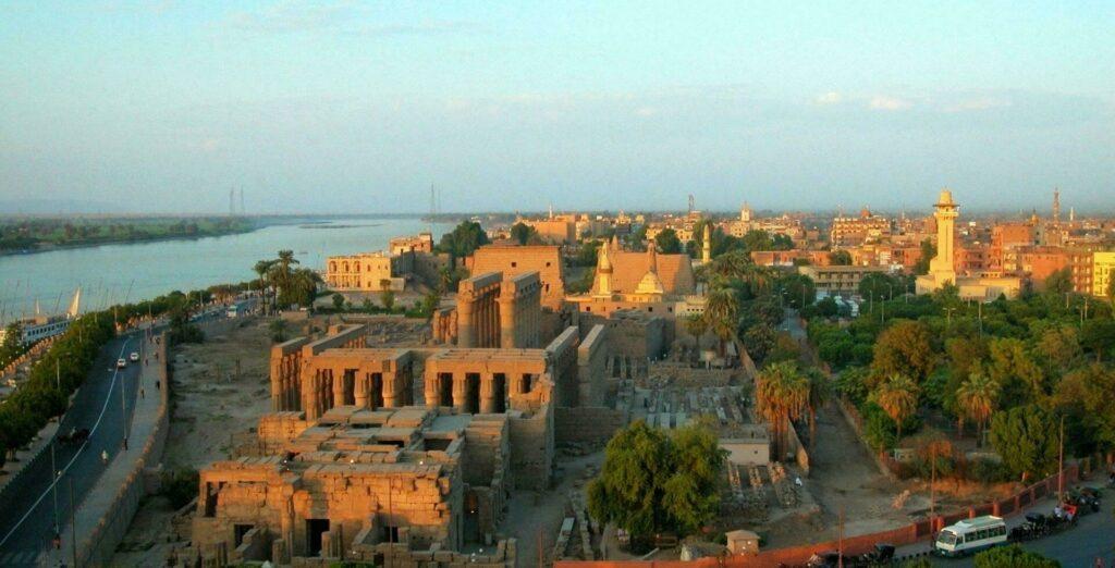 Egypte ville Louxor